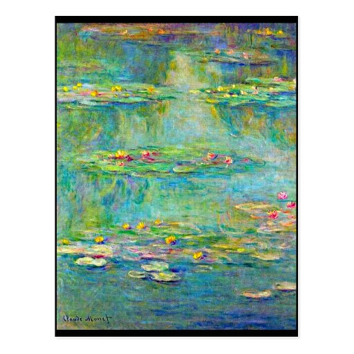 Postal-Clásico/Vintage-Claude Monet 215 Tarjetas Postales