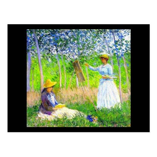 Postal-Clásico/Vintage-Claude Monet 5