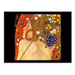 Postal-Clásico/Vintage-Gustavo Klimt 6