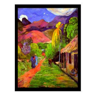 Postal-Clásico Vintage-Paul Gauguin 4