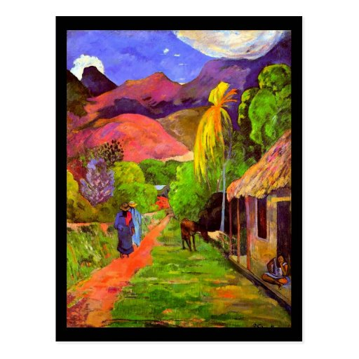 Postal-Clásico/Vintage-Paul Gauguin 4