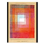 Postal-Clásico/Vintage-Paul Klee 66