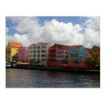 Postal colorida de Curaçao