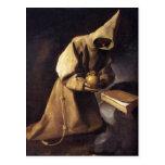 Postal con Francisco de Zurbaran Painting
