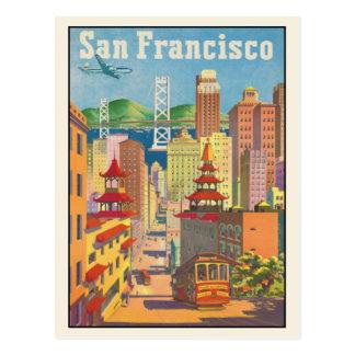 Postal con la impresión del poster de San Francisc