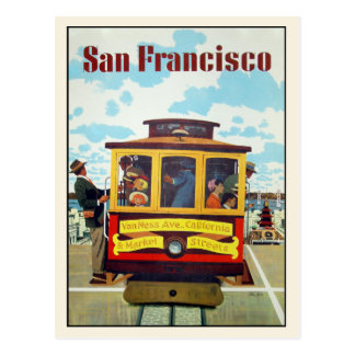 Postal con la impresión fresca de San Francisco
