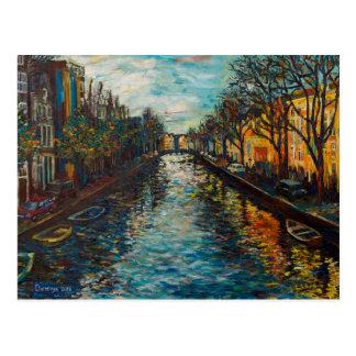 Postal con la opinión del ` s de Amsterdam
