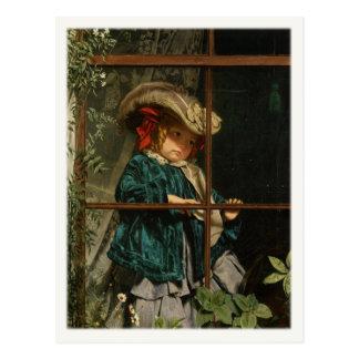 Postal con la pintura de Sophie Gengembre Anderson