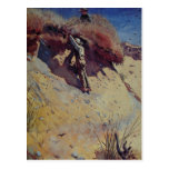 Postal con la pintura de Winslow Homer