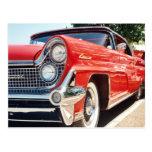 Postal convertible continental 1959 de Lincoln