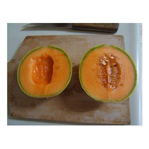 Postal cortada del ~ del melón
