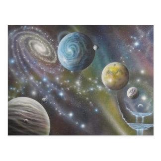 postal cósmica