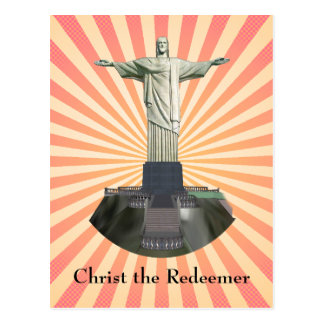 Postal: Cristo la estatua del redentor