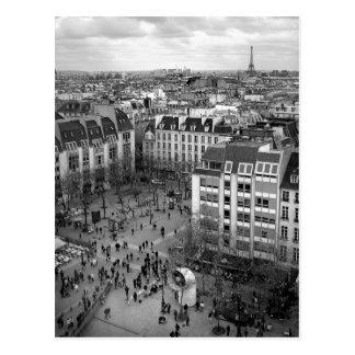 Postal cuadrada de Pompidou