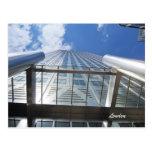 Postal cuadrada del rascacielos de Canadá del