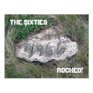 Postal de 1966 rocas