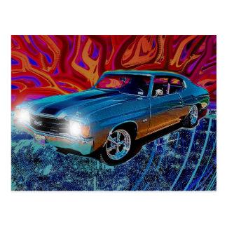 Postal de 72 Chevy Chevelle