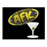 Postal de AFK Martini