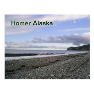 Postal de Alaska del home run