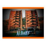 Postal de Albany