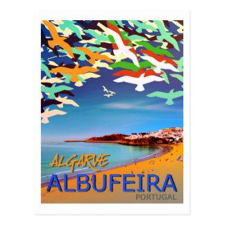 Postal de Albufeira Algarve Portugal