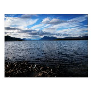 Postal de Aleknagik del lago