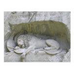 Postal de Alfalfa del monumento del león