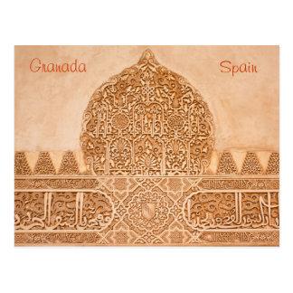 Postal de Alhambra Granada