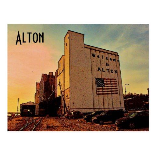 Postal de Alton Silo