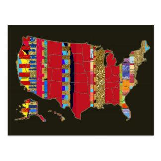 postal de América