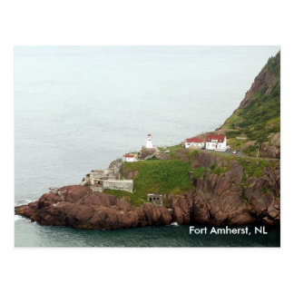 Postal de Amherst del fuerte