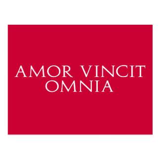 Postal de Amor Vincit Omnia