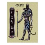 Postal de Anubis