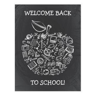 Postal de Apple de los profesores de la pizarra