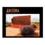 Postal de Arizona (bosque aterrorizado)