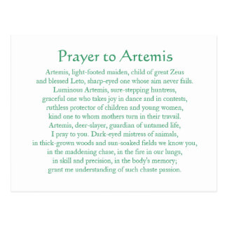 Postal de Artemis