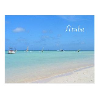 Postal de Aruba Sailboarding