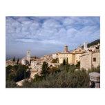 Postal de Assisi Italia