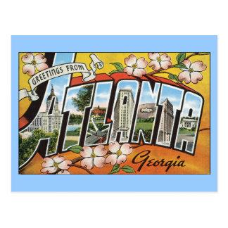 Postal de Atlanta Georgia