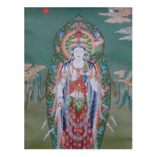 Postal de Avalokiteshvara