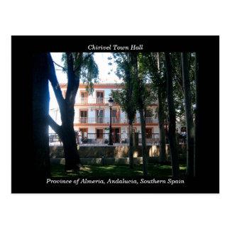 Postal de ayuntamiento de Chirivel - Almería Espa