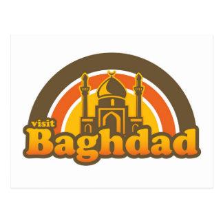 Postal de Bagdad de la visita
