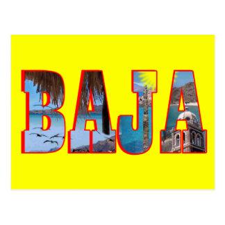Postal de Baja