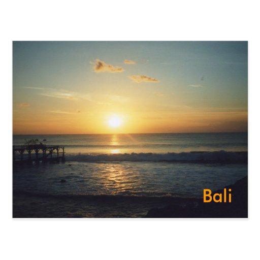 Postal de Bali