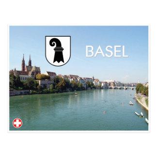Postal de Basilea - de Suiza