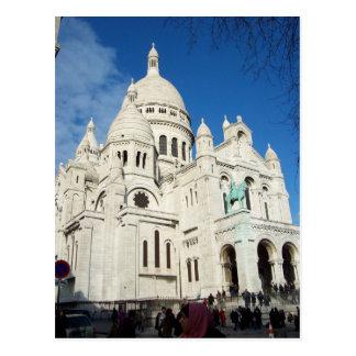 Postal de Basilique du Sacre-Coeur