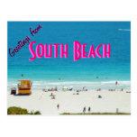 POSTAL de Beach~ del ~South