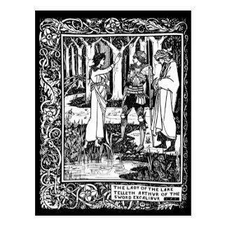 Postal de Beardsley Excalibur