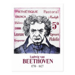 Postal de Beethoven