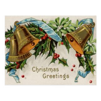 Postal de Belces de navidad del vintage
